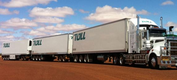 Toll refrigerated truck