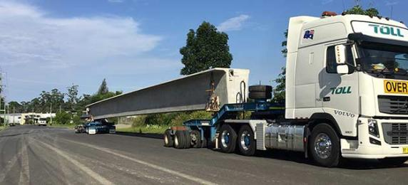 Toll makes light work of heavy haulage