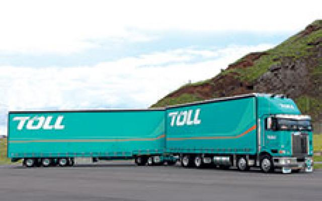 A high productivity 50MAX truck in New Zealand